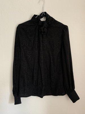 Hermès Silk Blouse black
