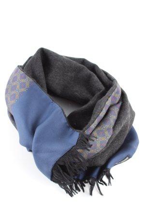 Hermès Bufanda de seda estampado repetido sobre toda la superficie look casual