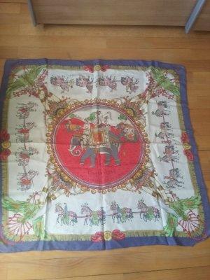 Hermès Zijden sjaal wolwit Zijde