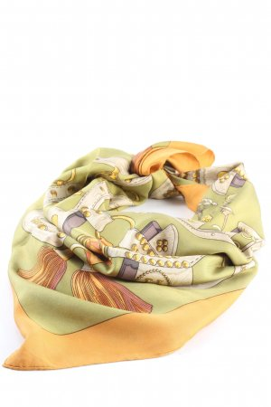Hermès Silk Cloth abstract pattern casual look