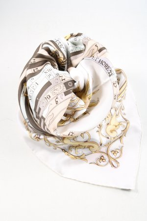 Hermès Silk Cloth allover print elegant