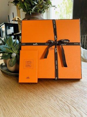 Hermès Foulard orange fluo