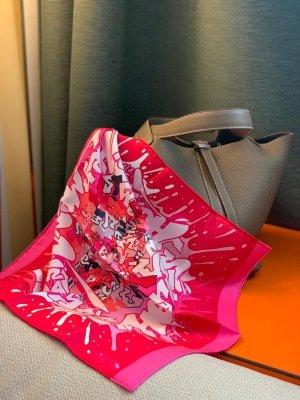 Hermès Seidentuch pink