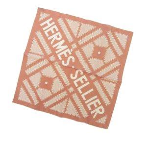 Hermes Sellier Silk Scarf