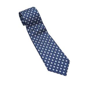 Hermès Halsdoek blauw Zijde