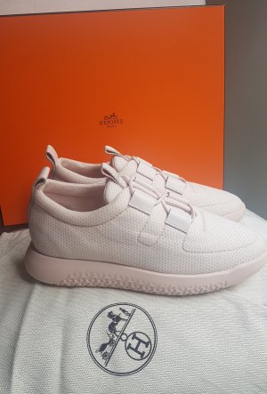 Hermès Sneaker slip-on rosa pallido