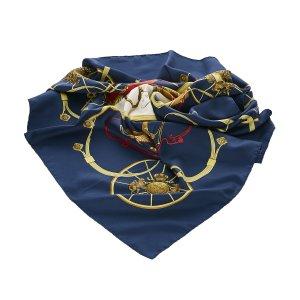 Hermes Springs Silk Scarf