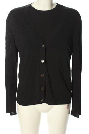 Hermès Strick Twin Set schwarz Casual-Look