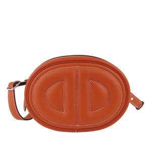 Hermès Marsupio arancione Pelle