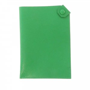 Hermès Minitasje groen Leer