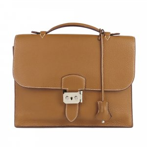 Hermès Business Bag brown leather