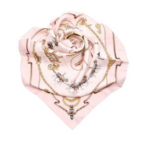 Hermes The Royal Mews Silk Scarf