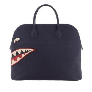 Hermès Handbag blue leather