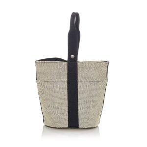 Hermès Shoulder Bag beige cotton