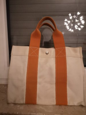 Hermès Shopper orange fluo