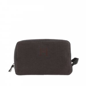 Hermes Trotter MM Canvas Pouch