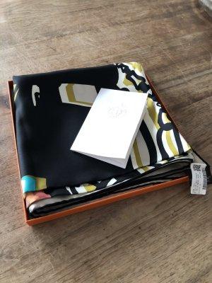 Hermès Silk Scarf black-cream