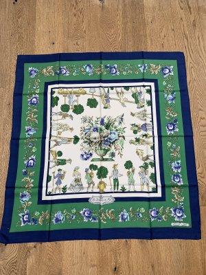 Hermès Neckerchief blue-forest green