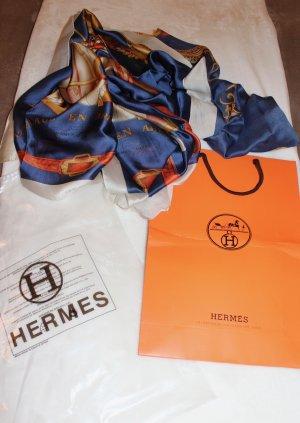 Hermès Mantilla multicolor Seda