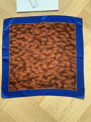 Hermès Silk Cloth bronze-colored-blue