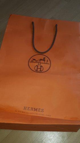 Hermès Borsa shopper cognac