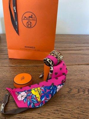Hermès Twilly Silk in Pink - Rarität & neu mit Etikett