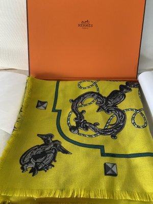 Hermès Chusta na ramiona Wielokolorowy Kaszmir