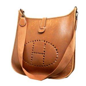 Hermès Shoulder Bag brown leather