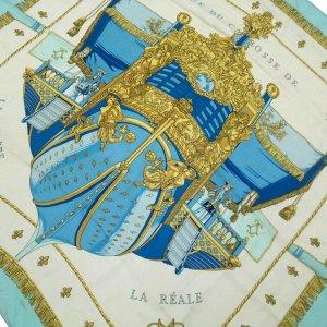Hermès Sciarpa bianco Seta