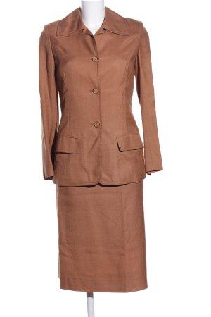 Hermès Web twin set bruin zakelijke stijl