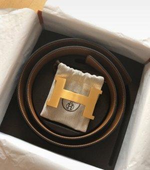 Hermès Ceinture en cuir multicolore cuir