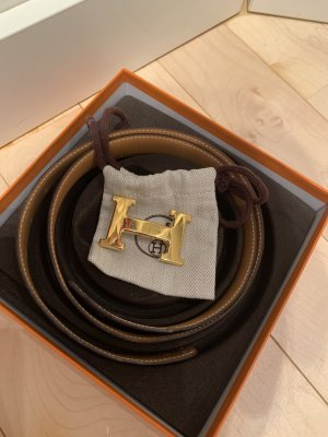 Hermès Leather Belt multicolored leather