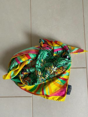 Hermès Bufanda de seda multicolor