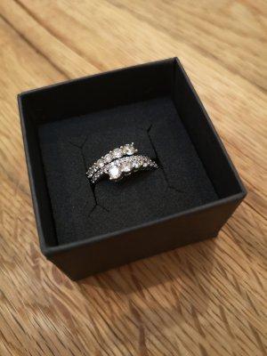 Hermia Ring Silber Zirkona-Steine
