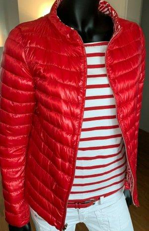 Herno Veste réversible blanc-rouge