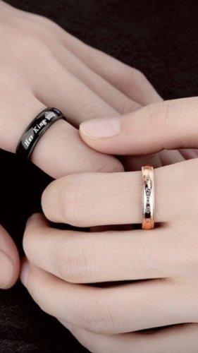 Partner Ring black-brown