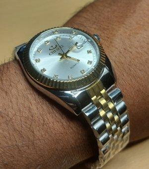 Herren Armband Uhr aus Chirurgenstahl (neu)