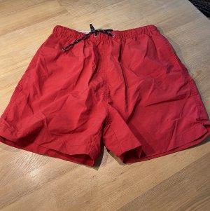 Ocean Sports Shorts de bain rouge brique