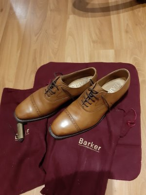 Zapatos estilo Oxford marrón claro