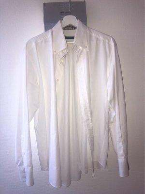 Burberry Long Sleeve Shirt white-light brown