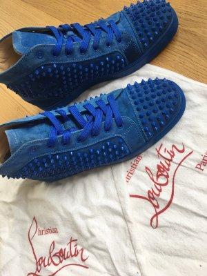Christian Louboutin Sneaker alta blu