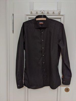 Eterna Koszula z długim rękawem czarny