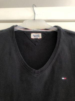 Hilfiger Denim V-Neck Shirt black