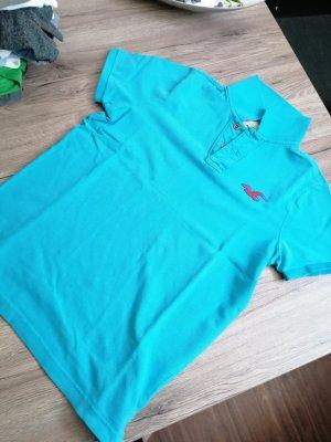 Hollister T-Shirt light blue-neon blue