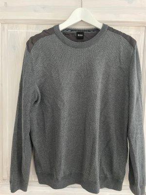Hugo Boss Pullover a maglia grossa grigio