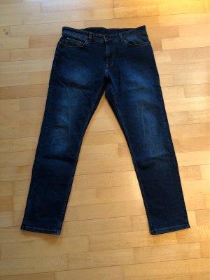 A. W. Dunmore Jeans elasticizzati blu scuro