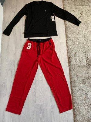 Ralph Lauren Pyjama red-black