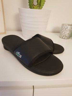 Lacoste Flip flop sandalen zwart