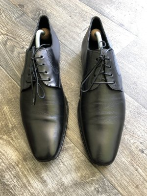 Hugo Boss Lace-up Boots black