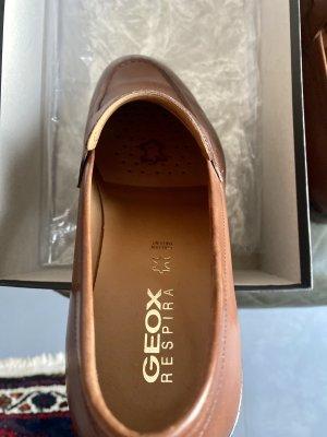 Geox Zapatos formales sin cordones coñac Cuero